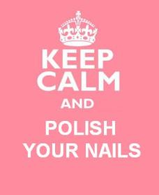 Keep Calm Polish your Nails